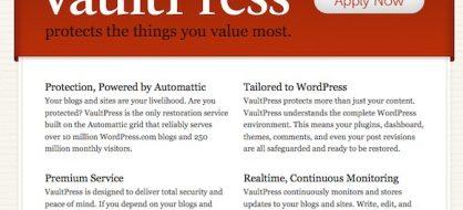 VaultPress : la solution de sécurité made in Automattic