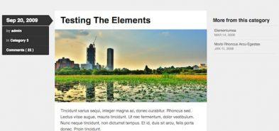 Skeptical, un thème gratuit pour blogueur par WooThemes