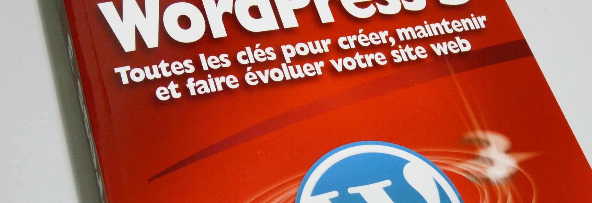 "Photographie - Couverture ""WordPress 3"""