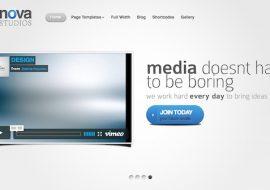 Nova, un thème premium WordPress sublime par Elegant Themes