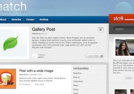 [Concours] Featch, un thème premium WordPress de chez MilkyThemes à gagner !