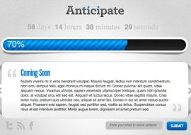 Anticipate, le plugin de maintenance pour WordPress par Elegant Themes