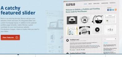 Biznizz, un thème WordPress corporate magnifique de chez WooThemes
