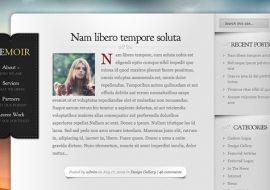 Memoir, un thème pour blogueur par Elegant Themes