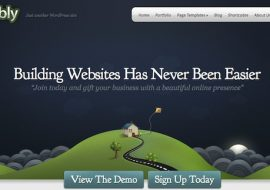 Webly, un thème WordPress corporate par Elegant Themes