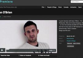 Premiere, le vidéo thème premium pour WordPress by WooThemes