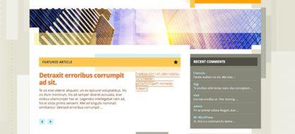 Splendio, un thème WordPress gratuit par Smashing Magazine