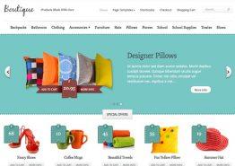 Boutique, un thème e-commerce de chez Elegant Themes