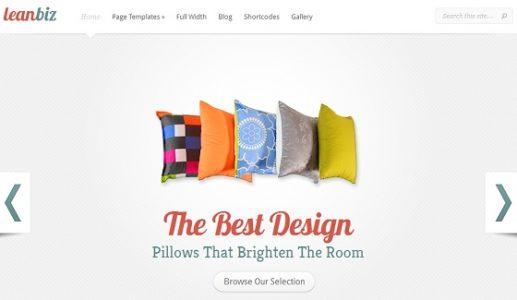 LeanBiz, un thème WordPress pour les artisans