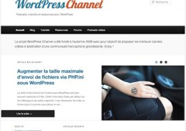 Teaser de la nouvelle version de WordPress Channel