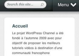 HandHeld, un thème WordPress premium pour mobile par Elegant Themes