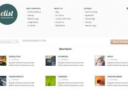 eList, un thème WordPress annuaire par Elegant Themes