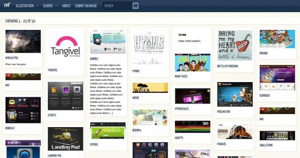 Capture d'écran - Evo, thème WordPress portfolio