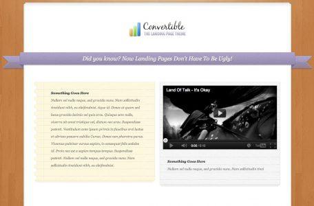 Capture d'écran - Aperçu de Convertible, un thème premium par Elegant Themes