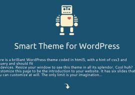 Smart Theme, un thème premium WordPress en HTML5 / CSS3