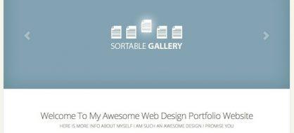 Flexible, un thème premium WordPress adaptatif élégant
