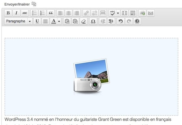Capture d'écran - Exemple de galerie WordPress