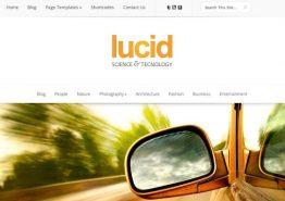 Lucid, un thème premium pour WordPress responsive
