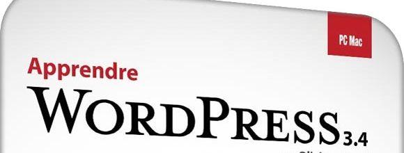 Jaquette DVD - Apprendre WordPress 3.4