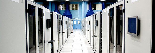 Bannière - Salle serveur au CERN
