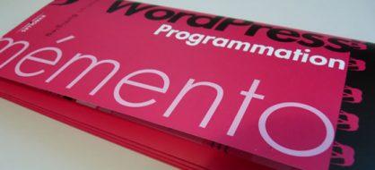 Le Memento WordPress par Jonathan Buttigieg