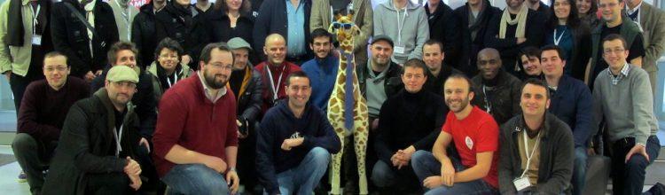 Photo de famille de la communauté WordPress en France (2e journée)
