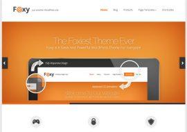 Foxy, un thème premium WordPress par Elegant Themes