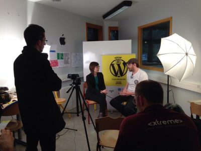 Interview au WordCamp Paris 2014