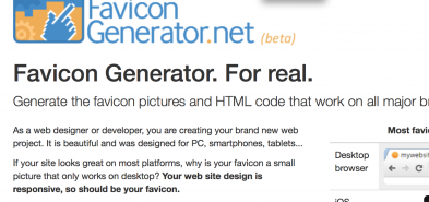 Générer un favicon multi-plateforme pour WordPress
