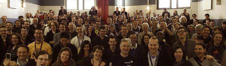 Photo de groupe du WordCamp Paris 2014