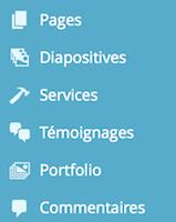 Exemple d'utilisation des dashicons sous WordPress