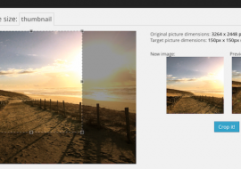 Manual Image Crop, un plugin pour rogner manuellement vos miniatures WordPress