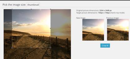 Manual Image Crop, un plugin pour rogner manuellement vos miniatures WordPress