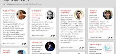 Créer une page «Contributeurs» sous WordPress pour valoriser vos auteurs