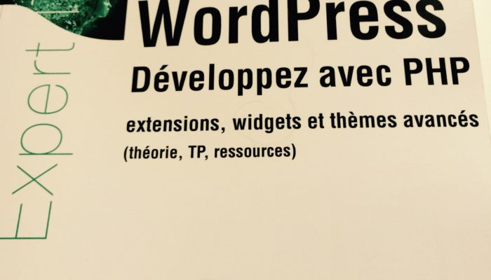 WordPress Développez avec PHP par Laurent Dumoulin