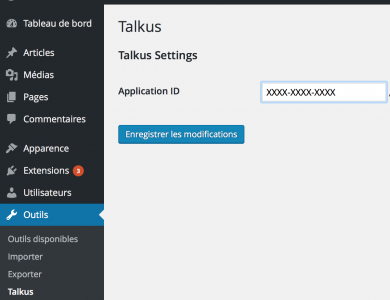 talkus-wordpress