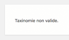 wordpress-taxonomie-invalide