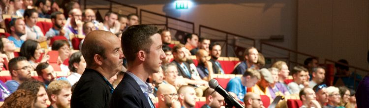 My question for Matt at WordCamp Europe
