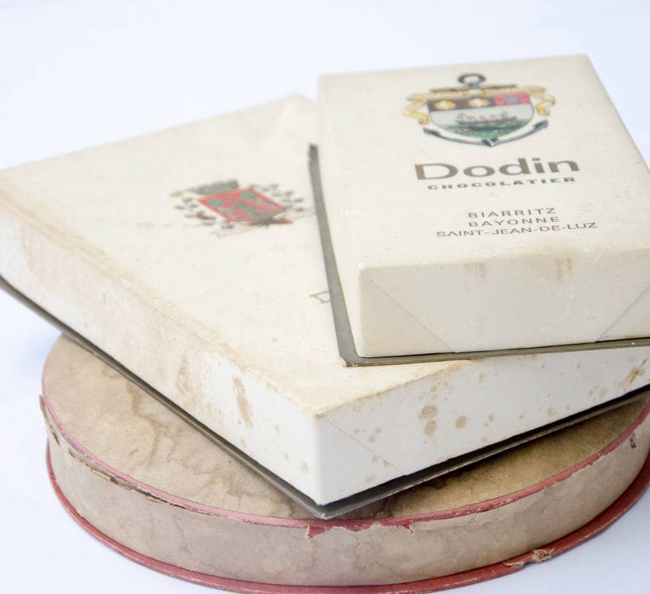 Boîte de gourmandises de chez Dodin Biarritz